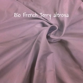 BIO French Terry altrosa