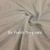 BIO French Terry sand