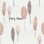French Terry Fairy Wood