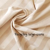 Recycled beige-creme